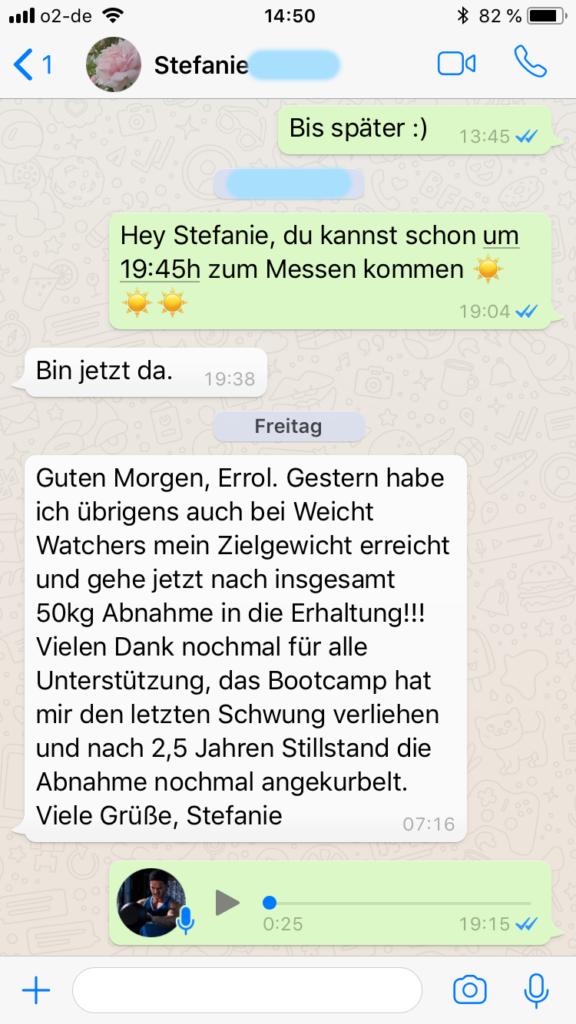 Bootcamp Erfahrung in Lübeck